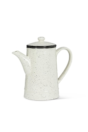 Abbott Collection Speckle Coffee Pot - Front cropped
