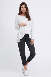 Ripe Maternity Speckle Swing Top - Front full body