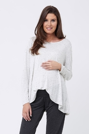 Ripe Maternity Speckle Swing Top - Front cropped