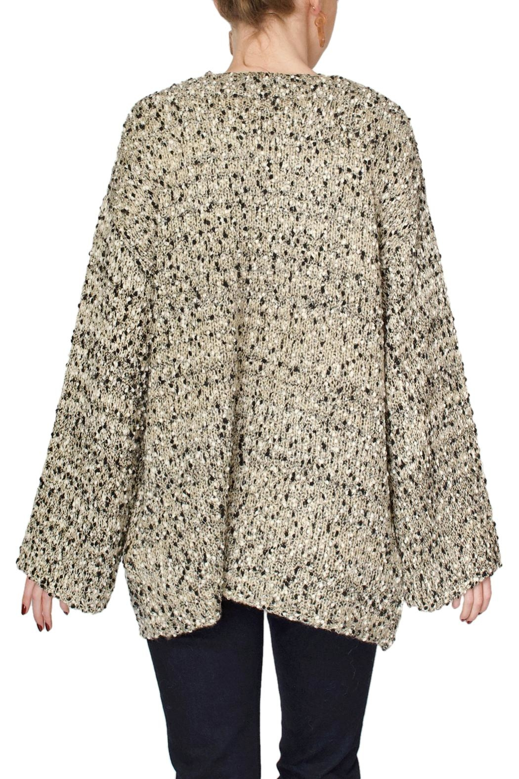 See U Soon Speckled Cardigan Sweater - Side Cropped Image