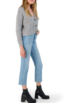 BB Dakota  Speckled Crop Cardi - Alternate List Image