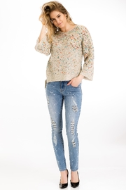 Baciano Speckled Hi-Lo Sweater - Product Mini Image