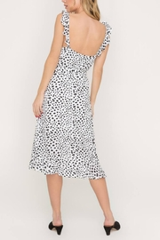 Lush Clothing  Speckled Midi Dress - Back cropped