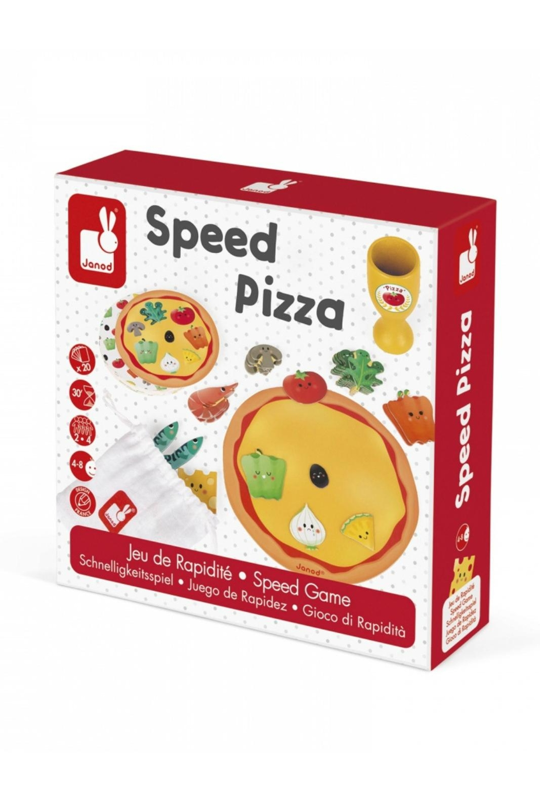 Janod Speed Pizza Game - Main Image