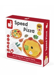 Janod Speed Pizza Game - Front cropped