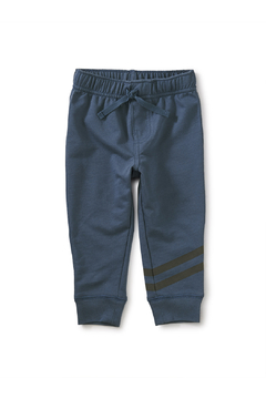 Shoptiques Product: Speedy Striped Baby Joggers - Copen Blue