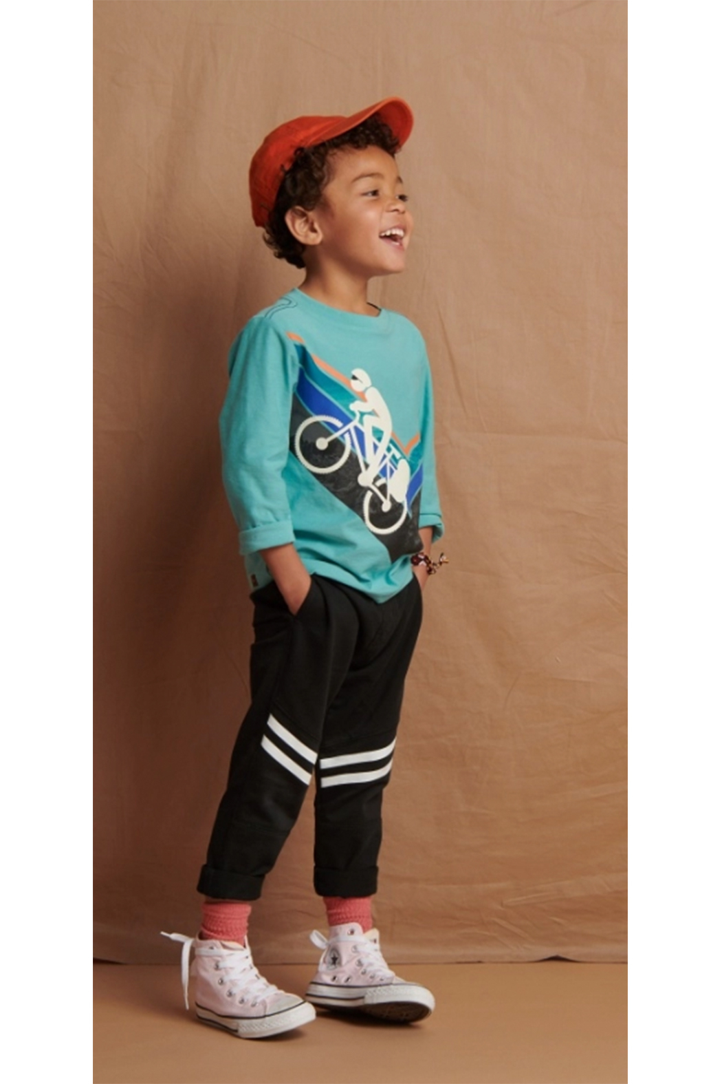 Tea Collection Speedy Striped Play Pant - Front Full Image