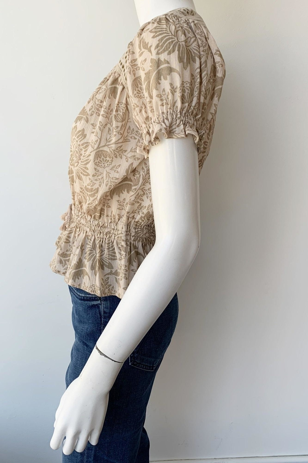 Spell & the Gypsy Collective Lioness Blouse - Back Cropped Image