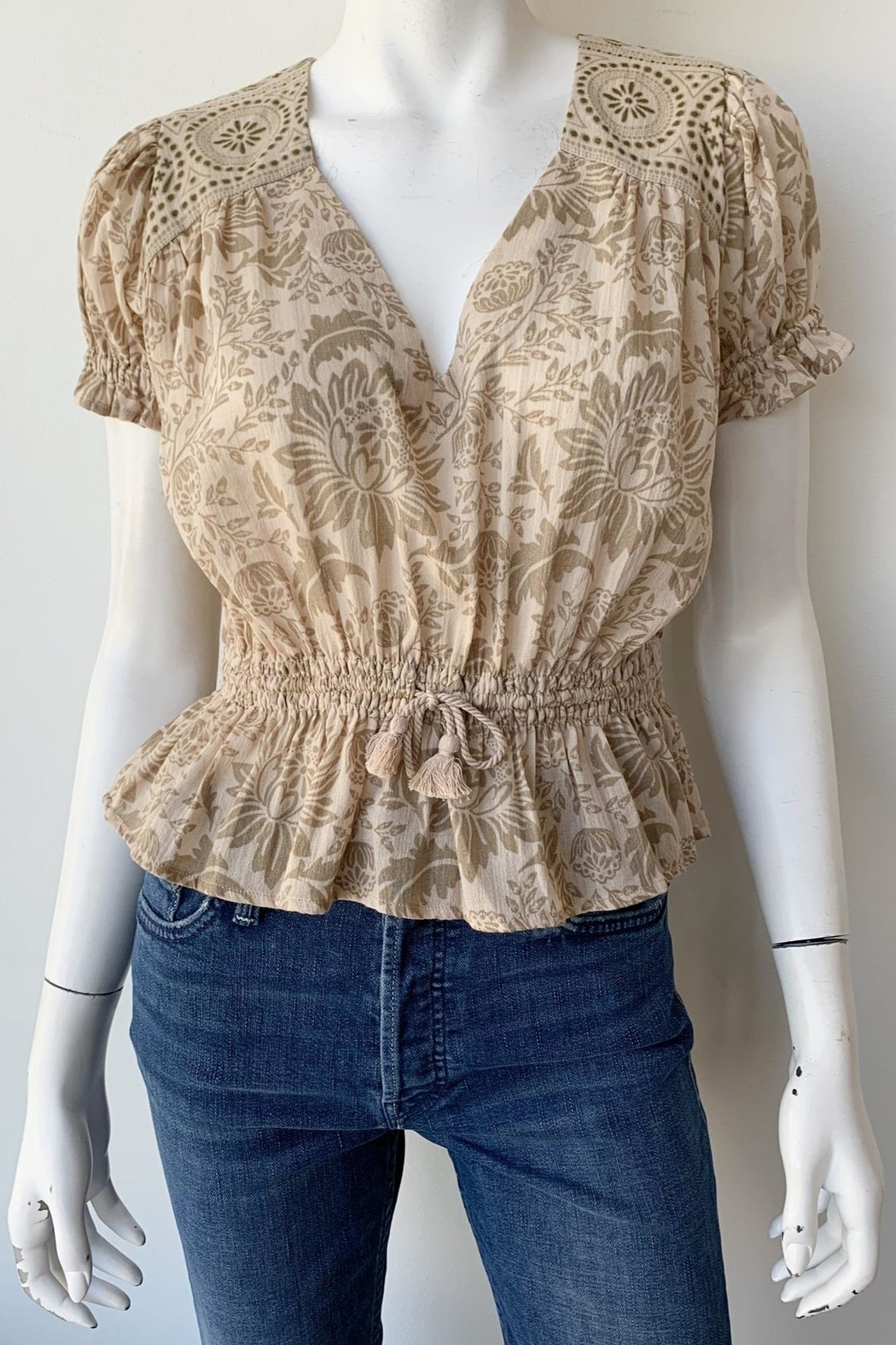 Spell & the Gypsy Collective Lioness Blouse - Side Cropped Image