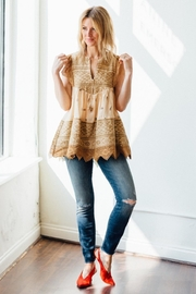 Spell & the Gypsy Collective Muwala Embroidered Blouse - Product Mini Image