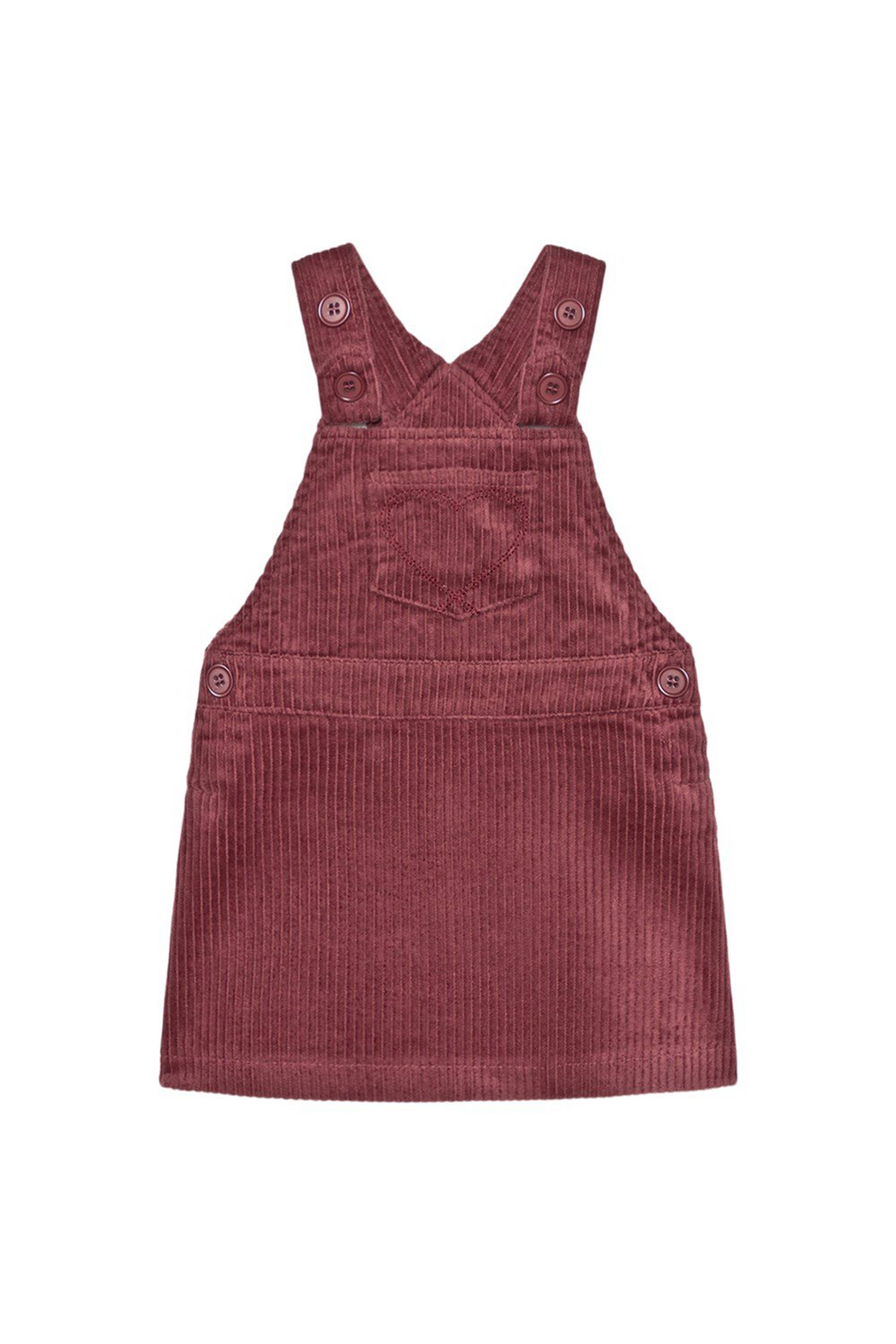 Minymo Spencer Corduroy Jumper - Crushed Berry - Main Image