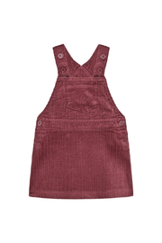 Minymo Spencer Corduroy Jumper - Crushed Berry - Front cropped