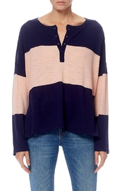 360 Cashmere Spencer Stripe Pullover - Product Mini Image