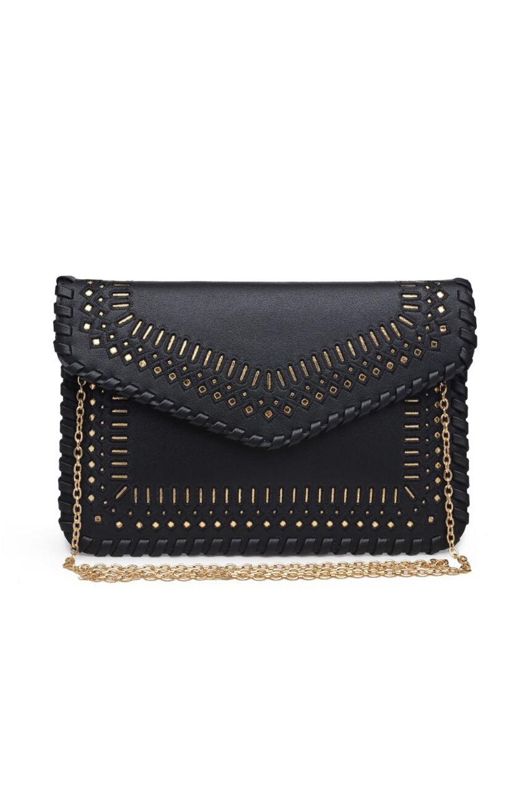 Urban Expressions Spencer Vegan Leather Clutch - Main Image