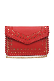 Urban Expressions Spencer Vegan Leather Clutch - Front cropped