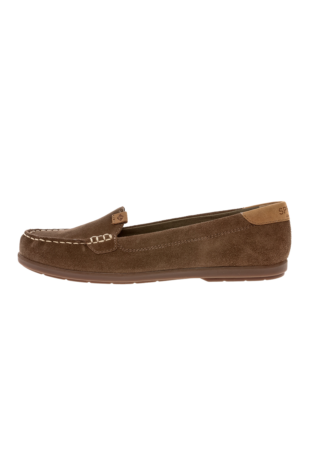 Sperry Coil Mia Suede Shoes - Front Full Image
