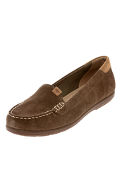 Sperry Coil Mia Suede Shoes - Front cropped