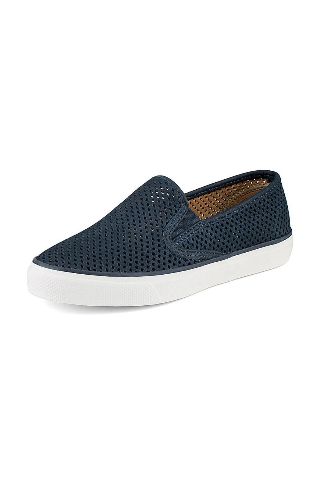 8fd60badedbd Sperry Seaside Perforated Sneaker from Branford by Shoetique ...