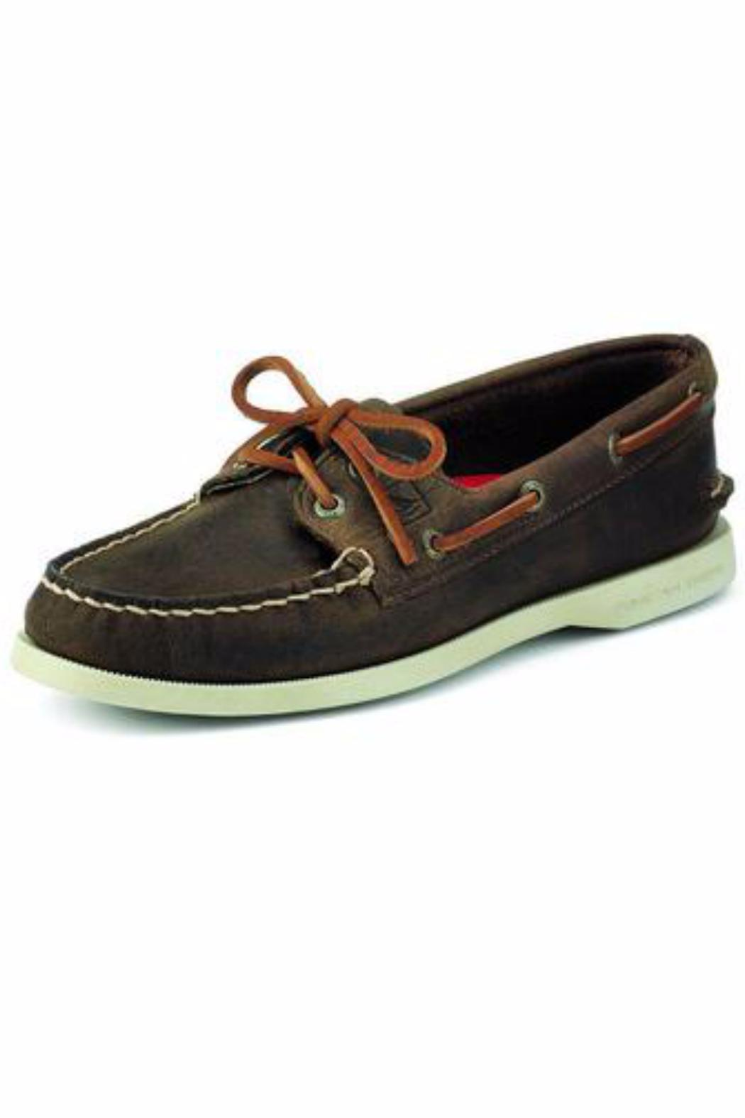 1b12fe06cf0 Sperry Top-Sider Brown Leather Boat-Shoe from New Jersey by Suburban ...