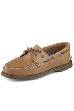 Shoptiques Product: Tan Leather Boat-Shoe