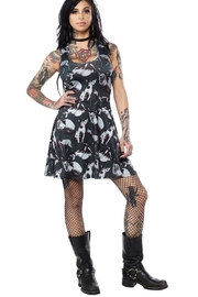 Sourpuss Sphinx Skater Dress - Product Mini Image