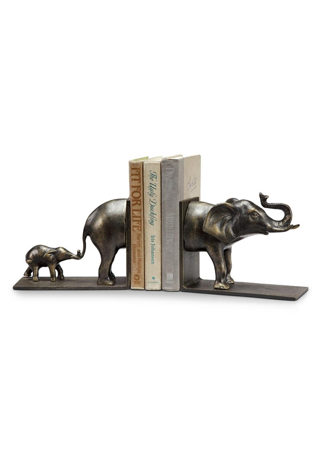 SPI Elephant & Baby Bookends - Main Image
