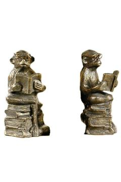 Shoptiques Product: Reading Monkey Bookends