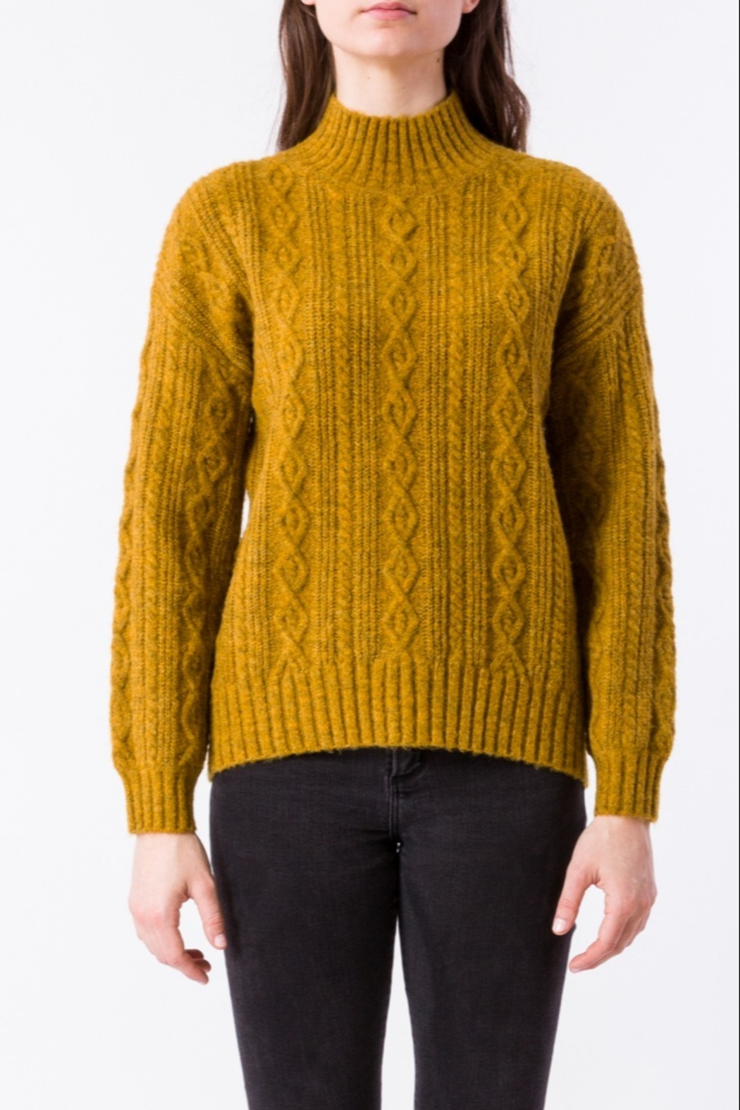 Kerisma Spice Cable-Knit Sweater - Front Cropped Image