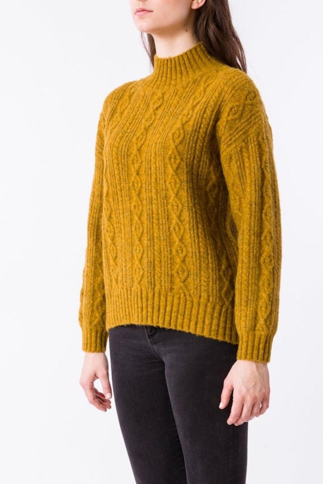 Kerisma Spice Cable-Knit Sweater - Side Cropped Image