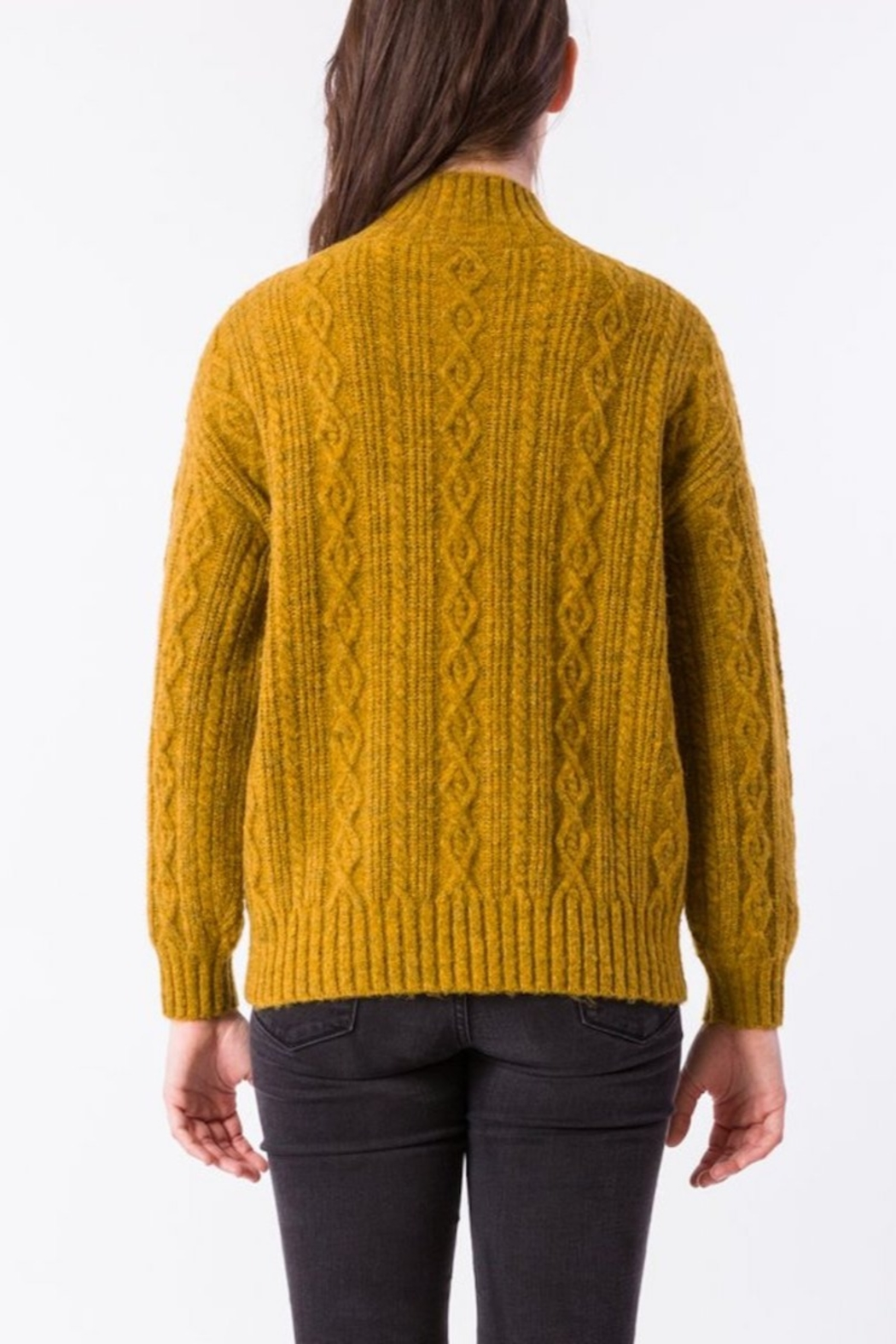 Kerisma Spice Cable-Knit Sweater - Front Full Image