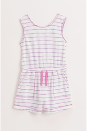 Splendid Spice Dye Stripe Youth Romper - Product Mini Image