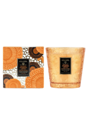 Voluspa Spiced Pumpkin Latte 2 Wick Boxed Hearth Candle - Product Mini Image