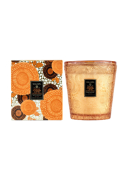 Voluspa Spiced Pumpkin Latte Boxed 3 Wick Hearth Candle - Product Mini Image