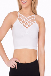 Suzette Collection Spider Cage Bralette - Product Mini Image