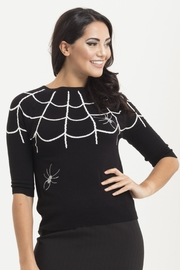 Voodoo Vixen Spider Web Sweater - Product Mini Image