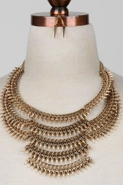 Minx Spike Statement Necklace - Product Mini Image