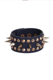 BIENBIEN Spike & Stud Leather Breacelet - Product Mini Image