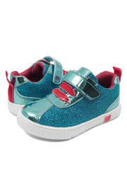 Livie & Luca Spin Aqua Metallic Sneaker - Product Mini Image
