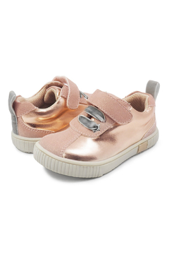 Livie & Luca Spin Rose Gold Shimmer Sneaker - Product List Image