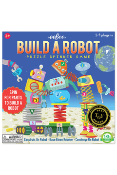 Shoptiques Product: Spin to Play Build a Robot
