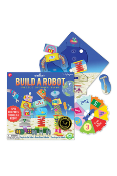 Eeboo Spin to Play Build a Robot - Alternate List Image