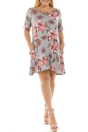 Spin USA Floral Criss-Cross Dress - Product Mini Image