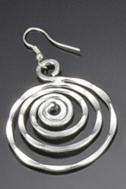 Anju Handcrafted Artisan Jewelry Spiral Earring - Product Mini Image