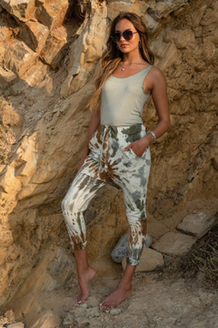 Venti6 Spiral Tie Dye Pant - Product List Image