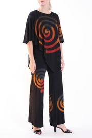 Talk of the Walk Spiral Tie-Dye Pantset - Product Mini Image