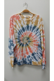 Tres Bien Spiral Tie dye Pullover - Product Mini Image