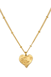 Satya Jewelry Spirit of Love Gold Necklace - Product Mini Image