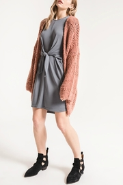 rag poets Spirit Open-Knit Cardigan - Product Mini Image