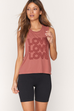 Spiritual Gangster  Active Love Flow Tank - Product List Image