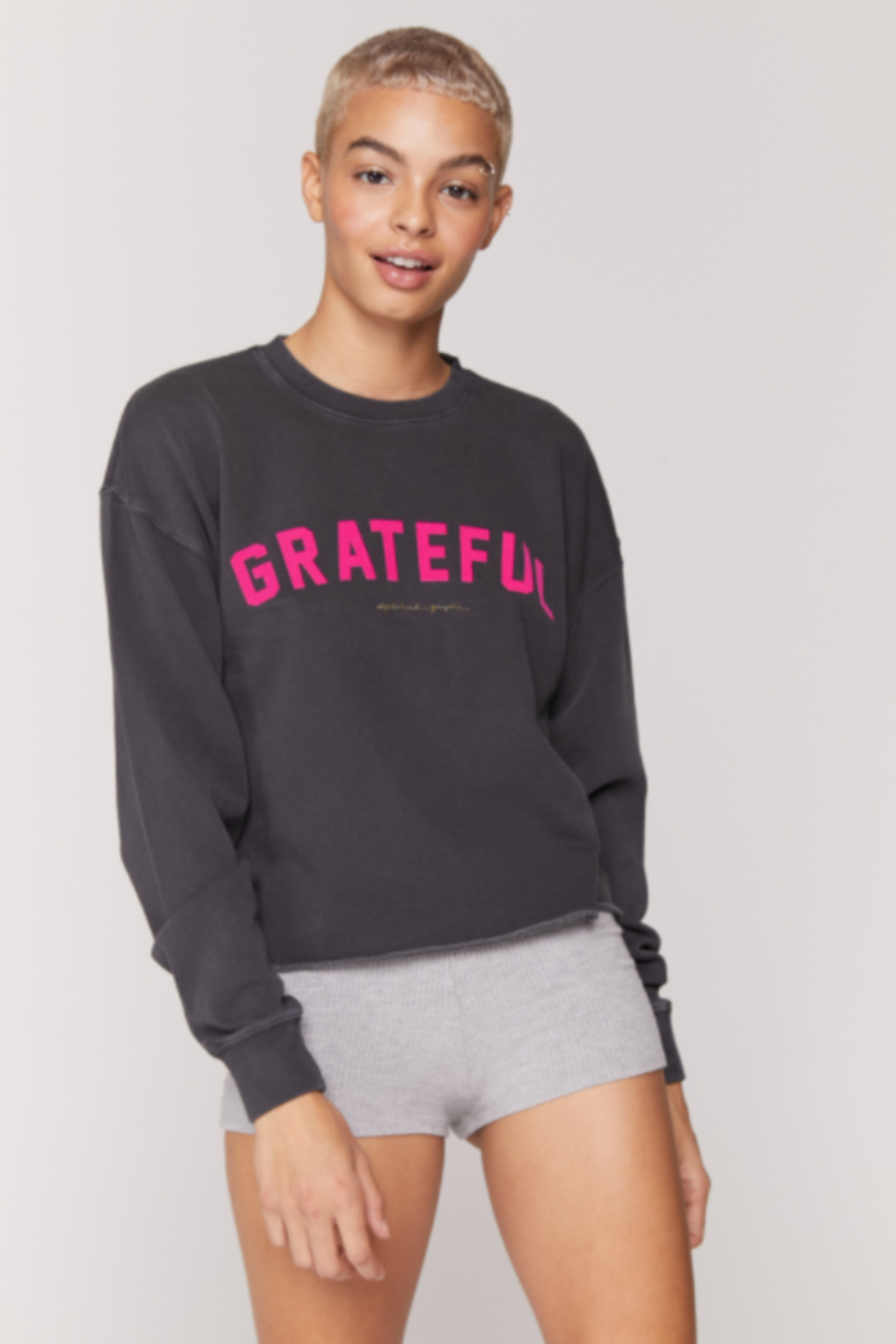 Spiritual Ganster Spiritual Gangster Graphic Pullover - Front Full Image